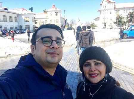 کمند امیرسلیمانی بازیگر و همسرش 16 - بیوگرافی کمند امیرسلیمانی بازیگر و همسرش