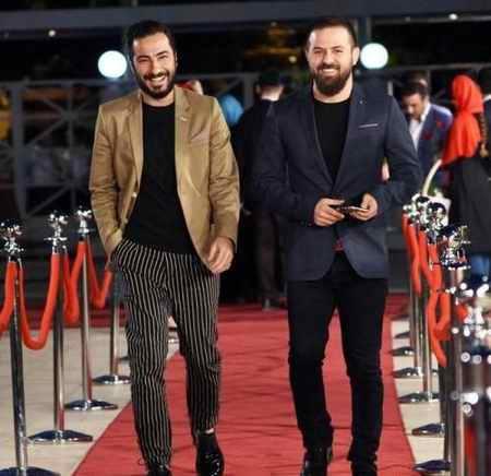 تیپ های جنجالی نوید محمدزاده مراسم و جشنواره های مختلف (5)