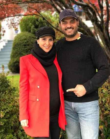 حاملگی همسر سام درخشانی بارداری همسر سام درخشانی