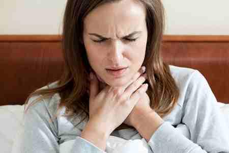 درمان گلو درد به روش خانگی