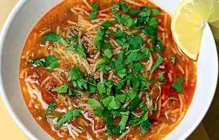 طرز تهیه سوپ ورمیشل سبزیجات