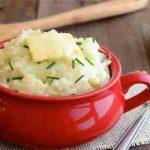 طرز تهیه پوره سیب زمینی خامه ای ایرانی