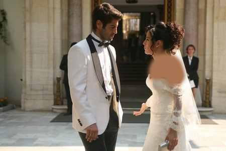 عکس ازدواج آیشن و ساواش + مدل لباس عروس آیشن (2)