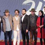 عکس بازیگران فیلم زرد در مراسم اکران خصوصی