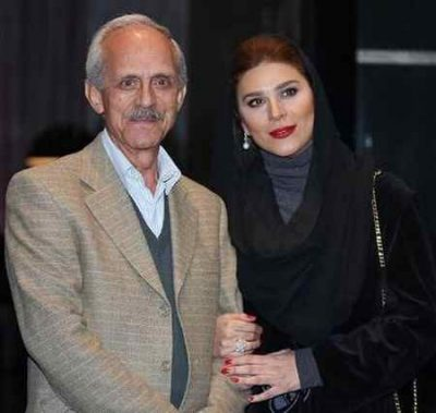 عکس سحر دولتشاهی درکنار پدرش