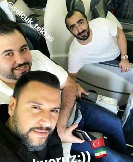 عکس علیشان Alişan خواننده معروف ترکیه ای در تهران (2)
