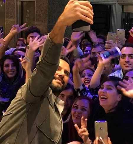عکس علیشان Alişan خواننده معروف ترکیه ای در تهران (3)