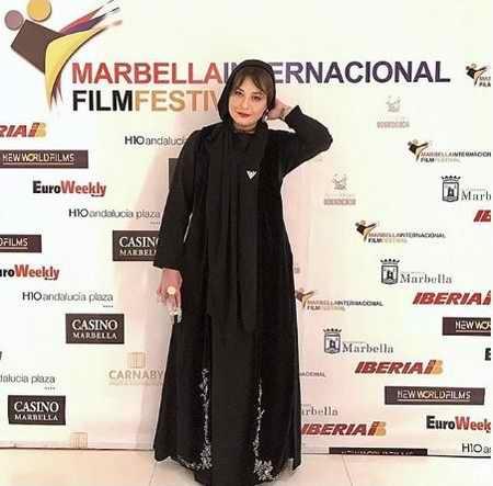 عکس های مهراوه شریفی نیا در جشنواره ماربیا اسپانیا (1)