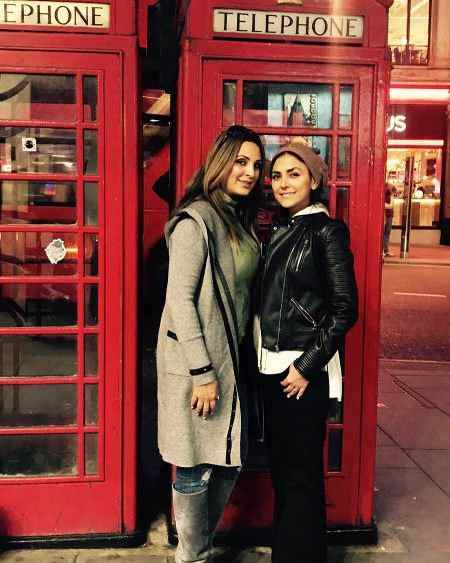 عکس های هدی زین العابدین 28 ساله در لندن (2)