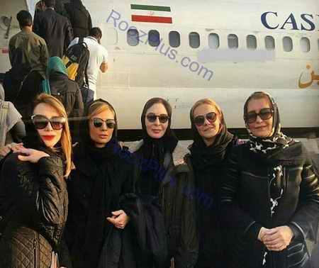 حضور بازیگران زن در میان زلزله زدگان کرمانشاه (1)