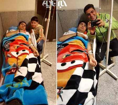 دلیل بستری شدن حافظ ناظری در بیمارستان کرمانشاه