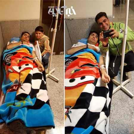 دلیل بستری شدن حافظ نظری در بیمارستان کرمانشاه دلیل بستری شدن حافظ ناظری در بیمارستان کرمانشاه