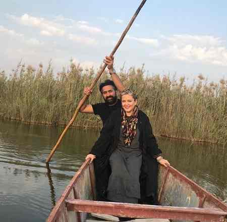 عکس بهاره رهنما و همسرش در تالاب شادگان عکس بهاره رهنما و همسرش در تالاب شادگان