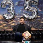عکس جدید احسان علیخانی در تولد 35 سالگی اش