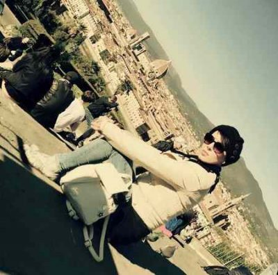 عکس جدید لیلا بلوکات در فلورانس ایتالیا