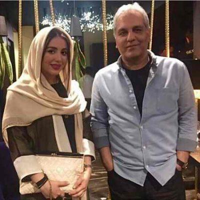 عکس جدید مهران مدیری و سپیده مراد پور در یک مراسم