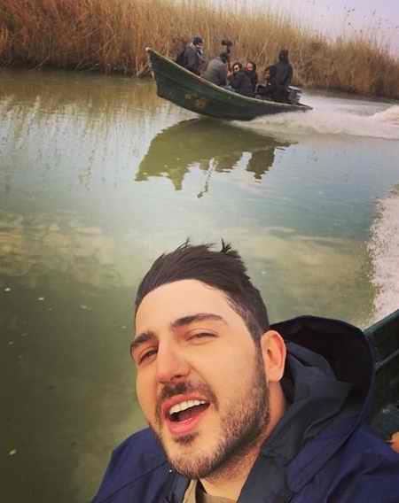 عکس های آرمان در سریال سایه بان با بازی محمدرضا غفاری (3)