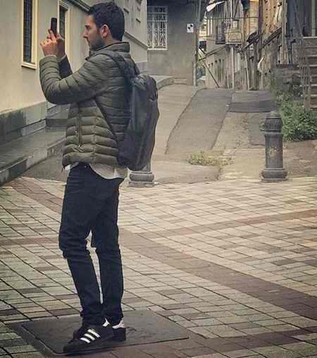 عکس های آرمان در سریال سایه بان با بازی محمدرضا غفاری (4)