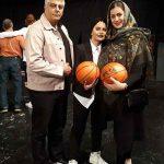 عکس های ساغر شکوری و خانواده اش در نمایش بکت