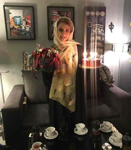 عکس های شبنم قلی خانی در جشن تولد 40 سالگی اش (1)