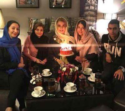 عکس های شبنم قلی خانی در جشن تولد 40 سالگی اش (3)