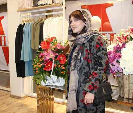 عکس های شهرزاد کمال زاده در افتتاحیه فروشگاه وی شاپ (2)