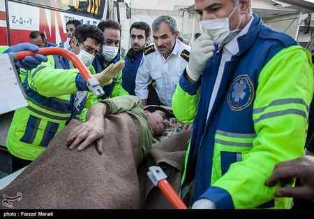 عکس های مصدومان و زخمی شدگان زلزله کرمانشاه پاییز 96 (18)