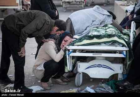 عکس های مصدومان و زخمی شدگان زلزله کرمانشاه پاییز 96 (9)