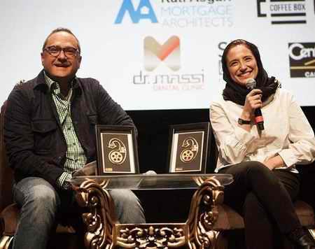 عکس های نگار جواهریان و رامبد جوان در فستیوال فیلم سینه ایران در کانادا (8)