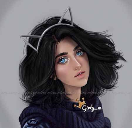 عکس پروفایل دخترانه فانتزی و خاص 2018 45 عکس پروفایل دخترانه فانتزی و خاص 2018