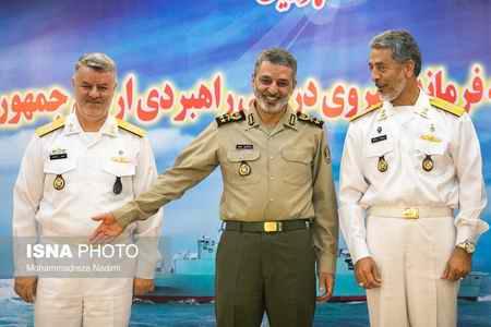 مراسم معارفه فرمانده جدید و تکریم فرمانده پیشین نیروی دریایی ارتش (2)