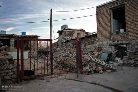 وضعیت روستای خانم آباد روانسر پس از زلزله 16 وضعیت روستای خانم آباد روانسر پس از زلزله