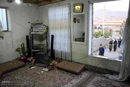 وضعیت روستای خانم آباد روانسر پس از زلزله 17 وضعیت روستای خانم آباد روانسر پس از زلزله