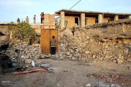 وضعیت روستای خانم آباد روانسر پس از زلزله 3 وضعیت روستای خانم آباد روانسر پس از زلزله