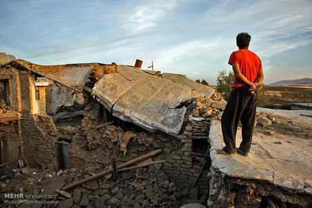 وضعیت روستای خانم آباد روانسر پس از زلزله 6 وضعیت روستای خانم آباد روانسر پس از زلزله