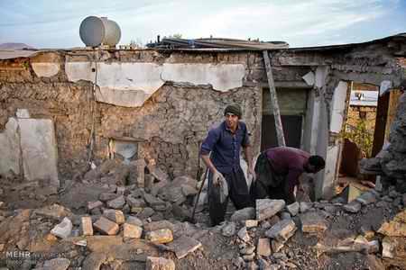 وضعیت روستای خانم آباد روانسر پس از زلزله 7 وضعیت روستای خانم آباد روانسر پس از زلزله