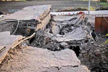 وضعیت روستای خانم آباد روانسر پس از زلزله 8 وضعیت روستای خانم آباد روانسر پس از زلزله