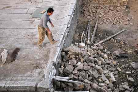 وضعیت روستای خانم آباد روانسر پس از زلزله 9 وضعیت روستای خانم آباد روانسر پس از زلزله