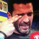 گریه بوفون به خاطر نرسیدن ایتالیا به جام جهانی 2018