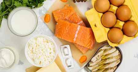 افزایش ویتامین D در بدن به کمک چند ماده غذایی