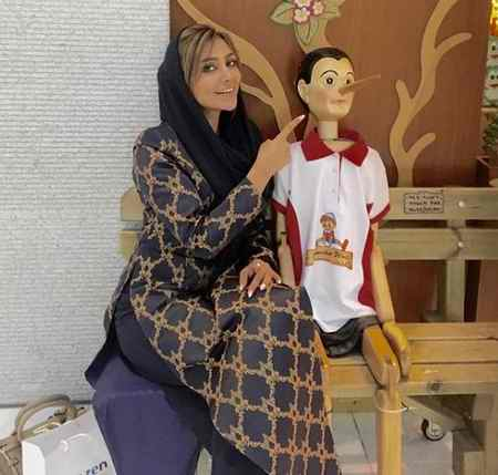 بیوگرافی الهام عرب مدل ایرانی و همسرش (5)