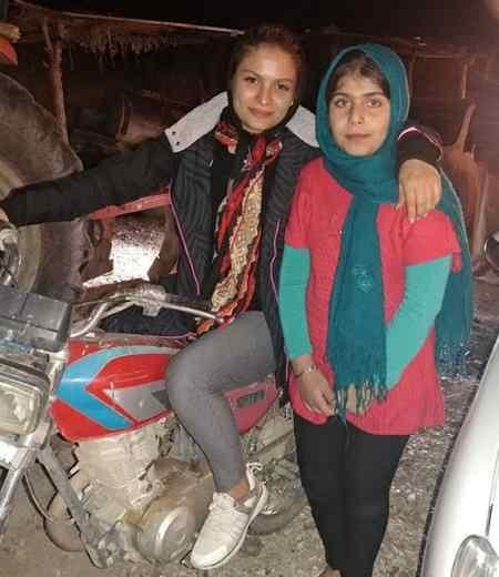 بیوگرافی بهناز شفیعی موتورسوار و همسرش (2)