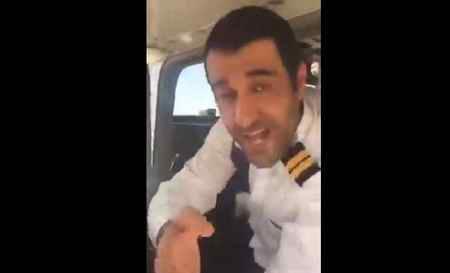 سقوط پژمان جمشیدی با هواپیما بصورت کامل