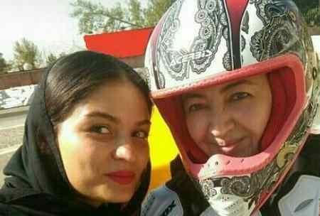 صحبت های بهناز شفیعی موتورسوار ایرانی درباره نیکی کریمی 2 صحبت های بهناز شفیعی موتورسوار ایرانی درباره نیکی کریمی