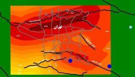 علت زلزله در تهران با نقشه گسل های خطرناک
