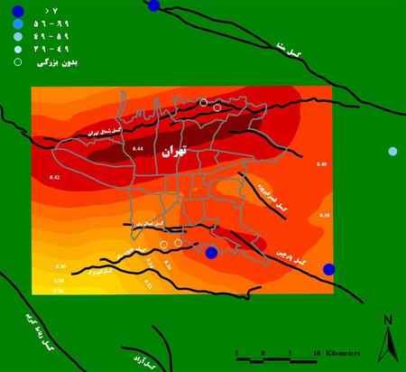 علت زلزله در تهران با نقشه گسل های خطرناک علت زلزله در تهران با نقشه گسل های خطرناک