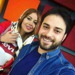 عکس بابک جهانبخش و همسر دومش در اینستاگرام