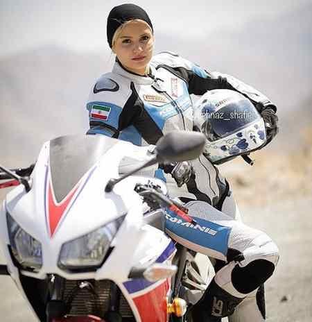 عکس های بهناز شفیعی موتورسوار ایرانی در اینستاگرام 5 عکس های بهناز شفیعی موتورسوار ایرانی در اینستاگرام