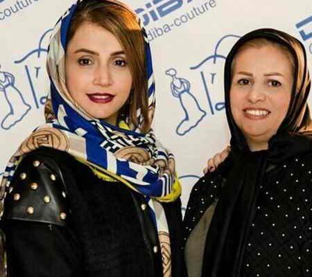 عکس های شبنم قلی خانی در مزون لباس دیبا (2)