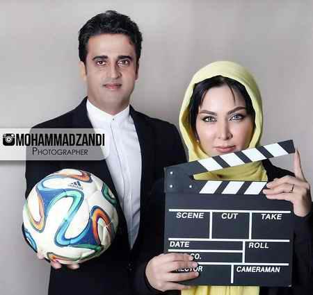 عکس های فقیهه سلطانی و همسرش در مجله ورزش و تصویر 4 عکس های فقیهه سلطانی و همسرش در مجله ورزش و تصویر